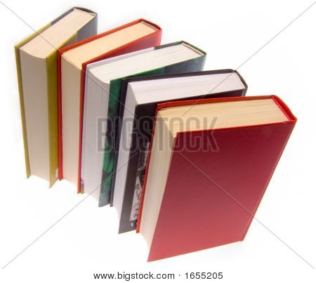 The Books Combined By A Pile