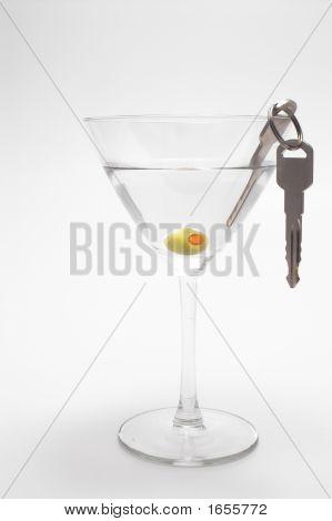 Car Keys In Martini