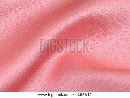 Wavy Fabric Pink Satin