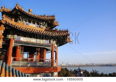 Ancient architecture Summer Palace,Beijing,China