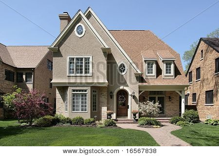 Luxury home in suburbs