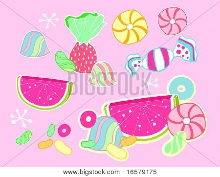 Candy Vector Illustration