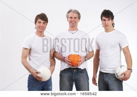 Playful Men