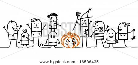 group and Halloween