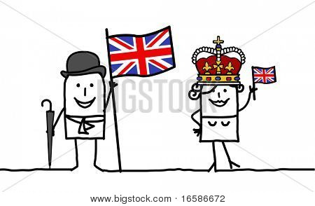 People and England