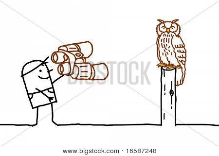 Ornithologist & Owl