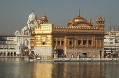 stock photo of bhakti  - amritsar angad arjan asia asian god gold golden bahadur
