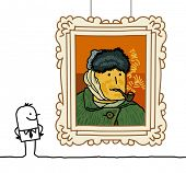 Постер, плакат: Мультфильм «Ван Гог»