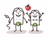 image of adam eve  - Adam and Eve - JPG