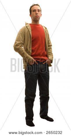 Man Full Body Isolation