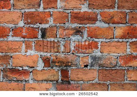 Grunge Brick Wall Background