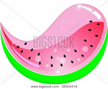 Watermelon. Vector