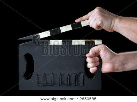 Cinema Clapboard.
