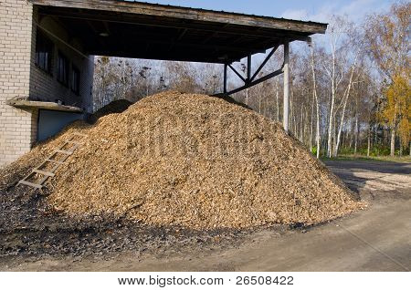 Biomass Fuels. Chipped Wood. Natural Fuels.