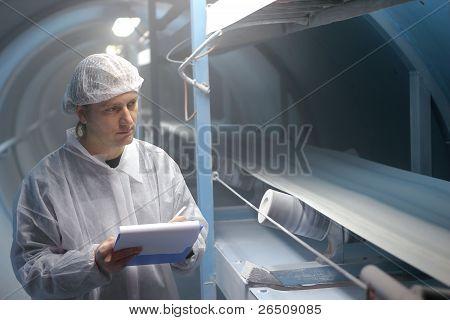 Açúcar refinaria - Inspetor de controle de qualidade