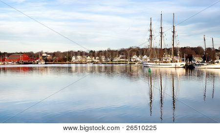 The Historic Mystic Seaport