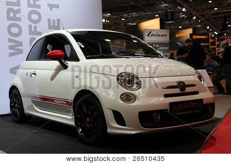 Essen - Nov 29: Fiat 500 Abarth