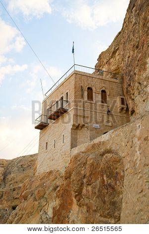 Monastery of Temptation, Palestine, Israel
