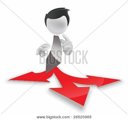 Multiple Arrow Paths