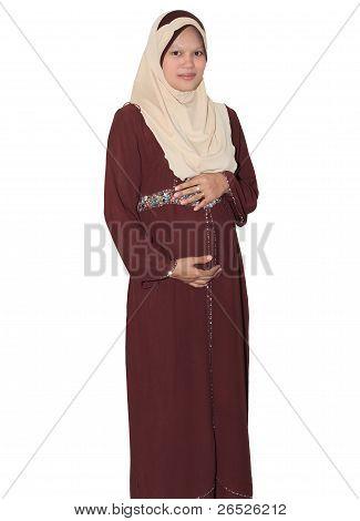 Pregnant Muslimah