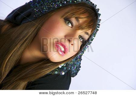 Pretty Young Woman Portrait.