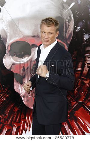 LOS ANGELES - AUG 3: Dolph Lundgren at the Screening of 'The Expendables' held at Grauman's Chinese Theater on August 3, 2010 in Los Angeles, California