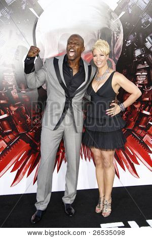 LOS ANGELES - AUG 3: Terry Crews at the Screening of 'The Expendables' held at Grauman's Chinese Theater on August 3, 2010 in Los Angeles, California