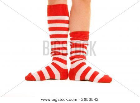 Funny Striped Socks