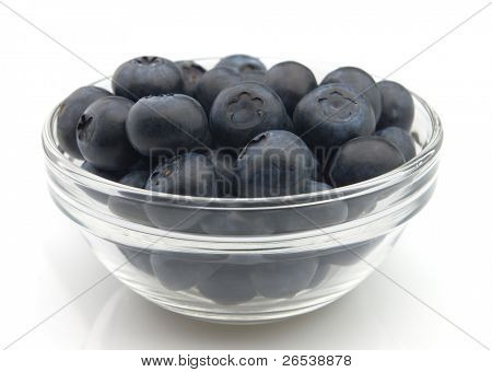 Ripe blueberry. Use it for a health and nutrition concept.