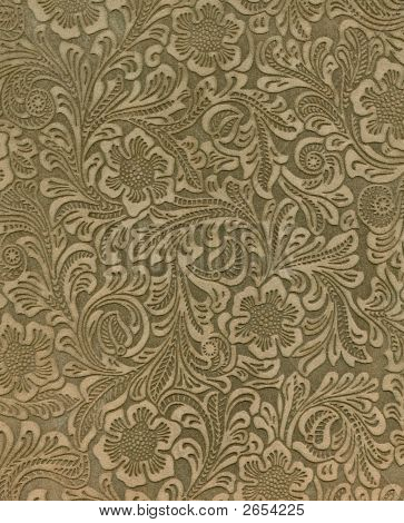 High Resolution Embossed Suede With Pattern