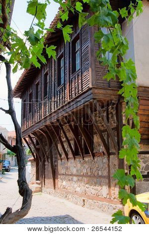 Second Floor, Balcony. Nessebar. Bulgaria.