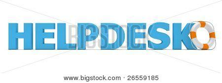 Helpdesk Blue - Life Belt