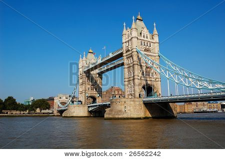 The Tower Bridge over the river Thames
