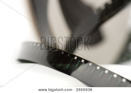 Closeup Macro Film Strip