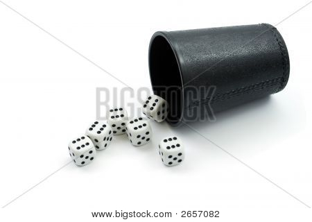 Dice And Glass