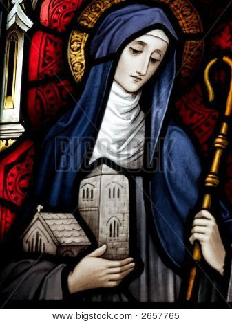 Saint Brigid Of Kildare