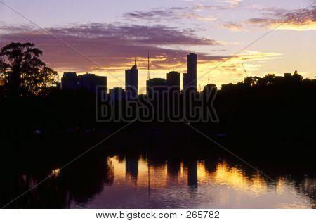 Melboure Sunset