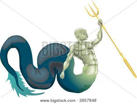 Merman Or Poseidon