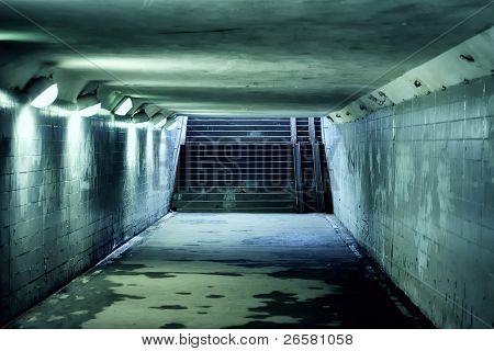 Ladder underground