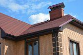 Asphalt Shingles Roofing Construction, Repair. Problem Areas For House Asphalt Shingles Corner Roofi poster