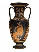 Постер, плакат: Древняя греческая ваза изолированные на белом