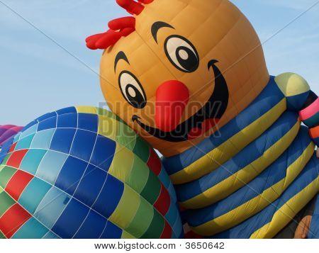 Hermosos globos de aire caliente