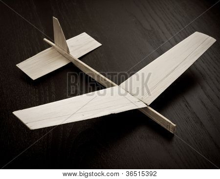 Child's model airplane