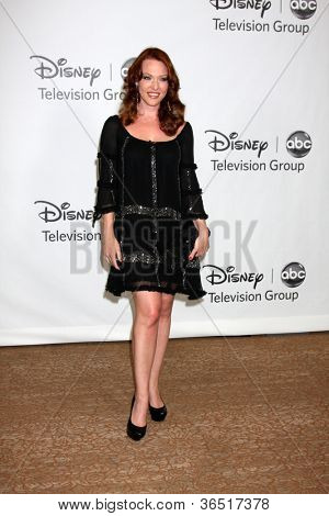 LOS ANGELES - AUGUST 1:  Erin Cummings arrive(s) at the 2010 ABC Summer Press Tour Party at Beverly Hilton Hotel on August 1, 2010 in Beverly Hills, CA.