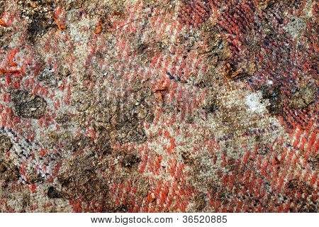 Grunge surface closeup background.