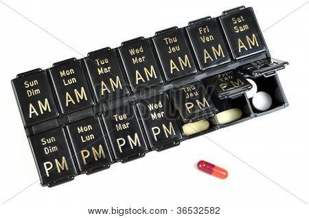 Days of the Week Pillbox