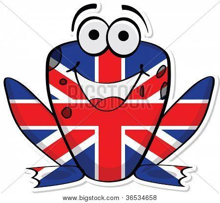 United Kingdom frog
