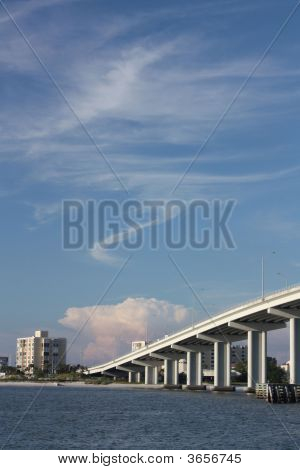 Clearwater Bridge Blue Skies