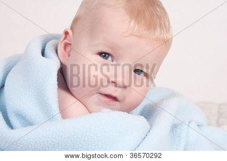 Cute Blonde Baby