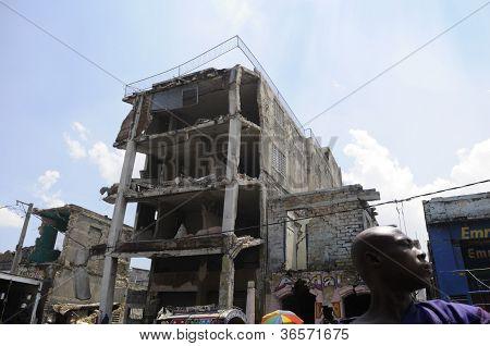 Port-Au-Prince centro da cidade.